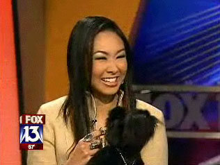 Tampa Bay Modeling model Ann Poonkasem guests on FOX 13's Lightning Round.
