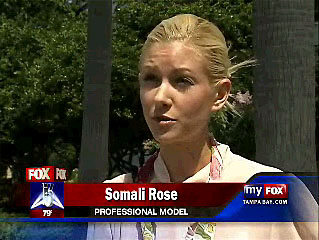 Tampa model and actor Somali Rose gives some sound advice on the Tampa Bay Modeling interview broadcast on FOX 13.