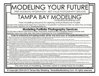 Modeling Your Future. Tampa Bay Modeling.